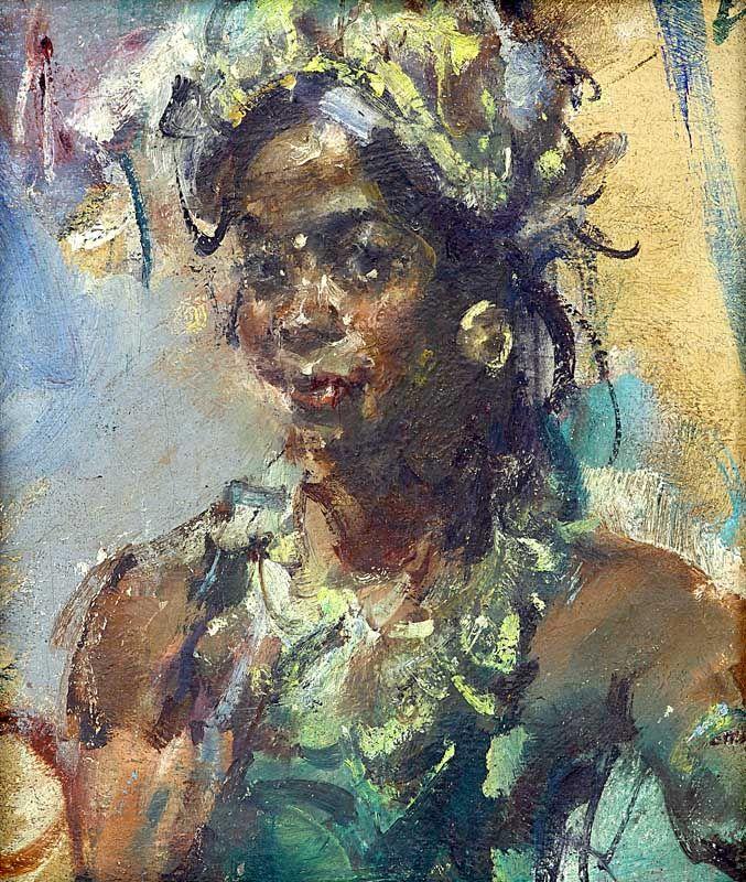 Antonio Blanco - Balinese danseres