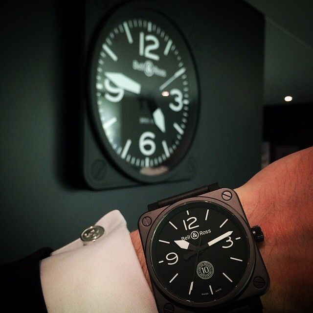 BR 01 - 10th ANNIVERSARY. Ltd Edition - 500 pcs. #BaselWorld2015 #BaselWorld #BellRoss