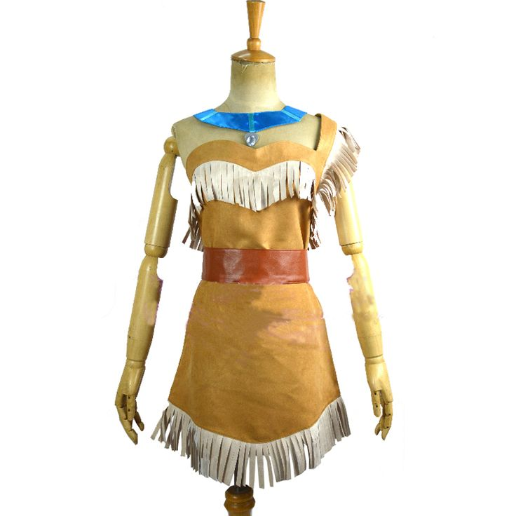 >> Click to Buy << 2017 Cosplay Ladies Fancy Dress Costumes Wild West Pocahontas Indian Costume Pocahontas Cosplay Dress #Affiliate