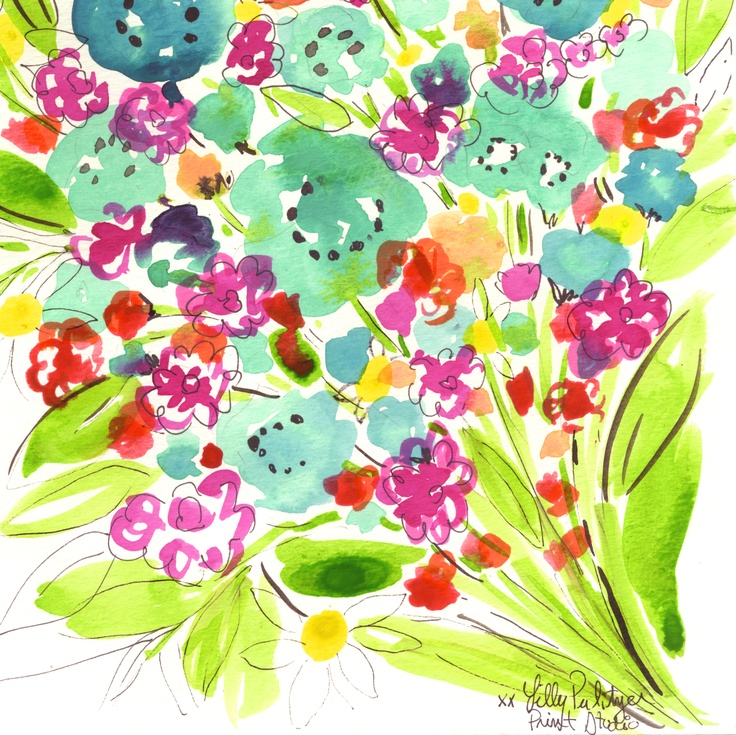 April showers bring May flowers #lilly5x5