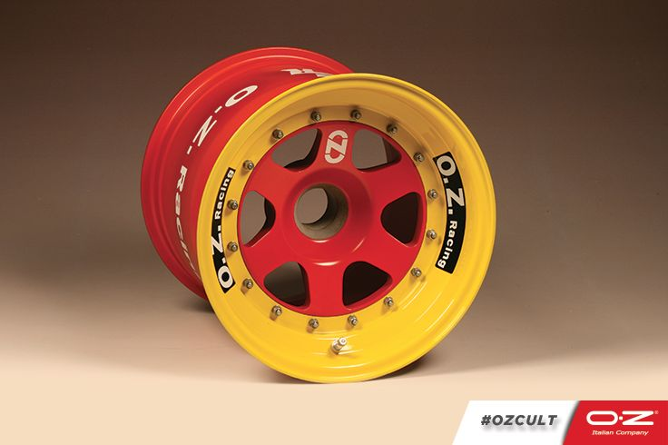 #OZCult In 1984 the OZ Racing division was created for the production of all racing wheels.