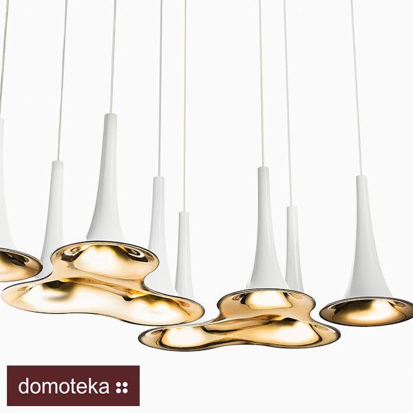 Oto lampa Nafir stworzona przez wyjątkowego projektanta Karima Rashida. Na pewno zwróci Twoją uwagę swoim opływowym, dynamicznym kształtem. Exclusive Lights inspiruje.