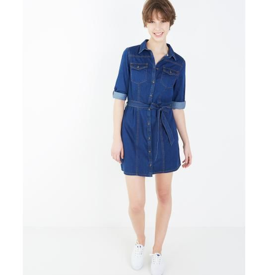 jeansjurk-met-knooplint