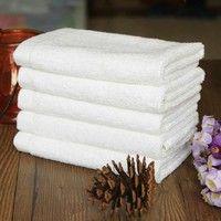 Wish   New 1Pc Soft 100% Cotton 33*73cm Hotel Bath Towel Washcloths Hand Towels WD (Size: 1)