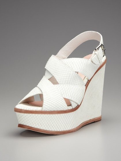 Orsino Wedge Sandal by Pencey on Gilt: Orsino Wedges, Summer Sandals, Wedge Sandals, Woman Shoes, Wedges Sandals, Shoes Fettish, Products, Criss Cross, Shoes Shoes