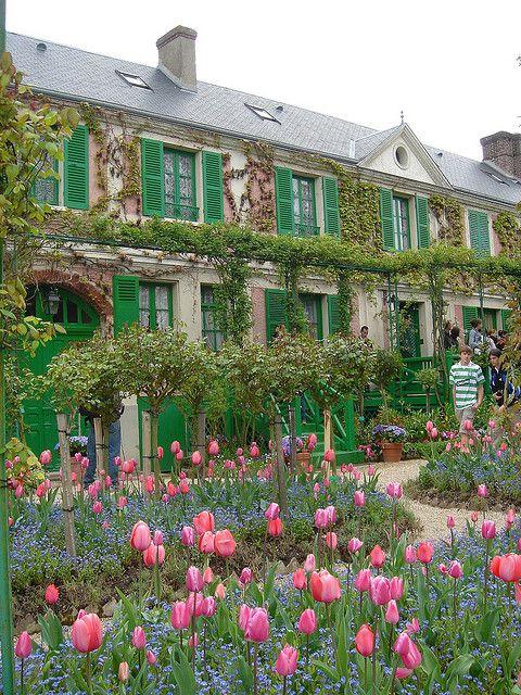 La  maidon de Claude Monet à Giverny, près de Paris
