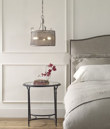 What makes a bedroom cozy? It's more than the high thread count sheets and fluffy pillows. It's the calm atmoshpere that drifts you off o sleep like floating on a cloud. http://www.myswankyhome.com/bedroom/