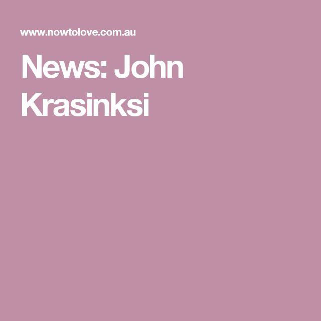 News: John Krasinksi