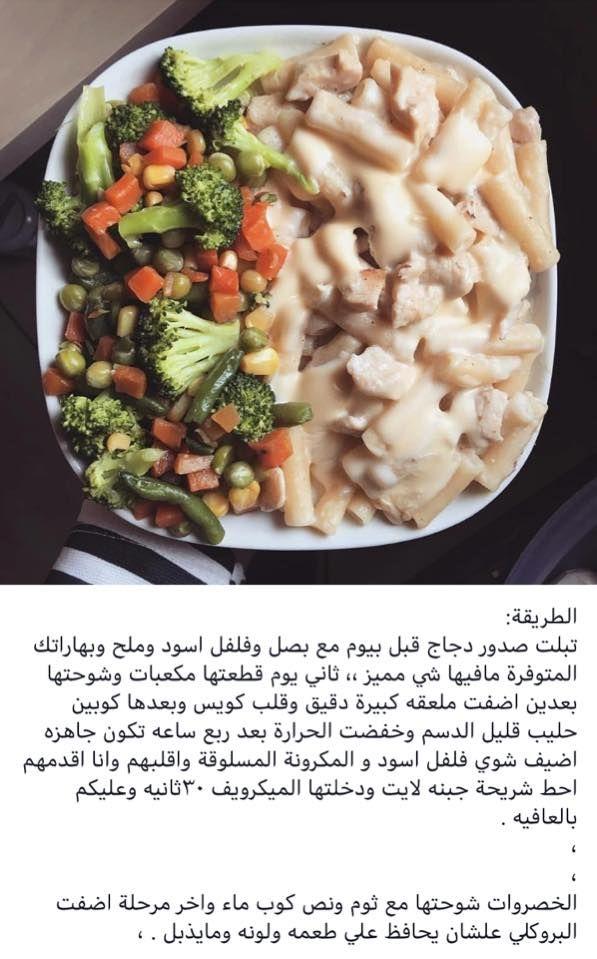 وجبه دايت بالمكونات Healthy Eating Diet Recipes Food