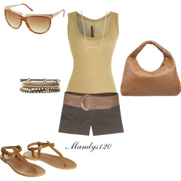 Tan & Green, created by mandys120 on Polyvore: Fashion Outfit, Summer Outfit, Polyvore Http Bit Ly Hdqk5J, Polyvore Http Bit Ly Hmqqcm, Polyvore Http Bit Ly Htbhht, Fashion Fun, Tans Green, Create, Wear