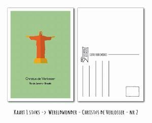 Kaart Christus de Verlosser -> Nr 2