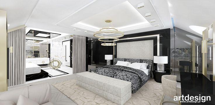 HIGH LIFE | Projekt sypialni z łazienką
