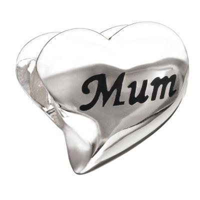 "Swarovski - ""Mum"" heart charm"