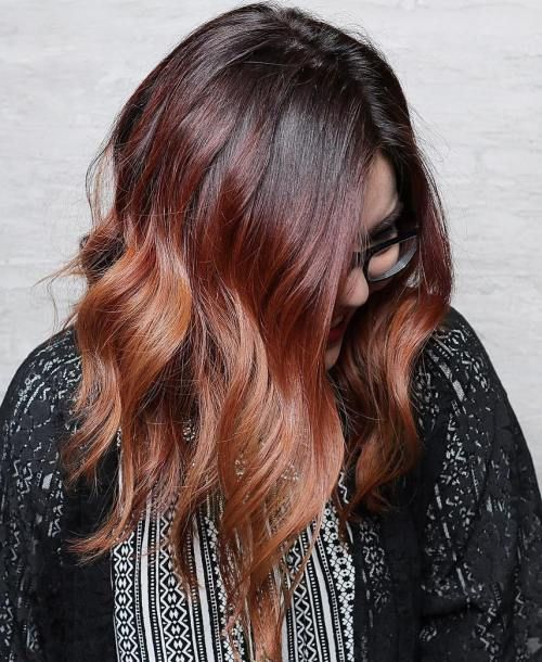 Best 25 Copper Hair Colors Ideas On Pinterest Which Red