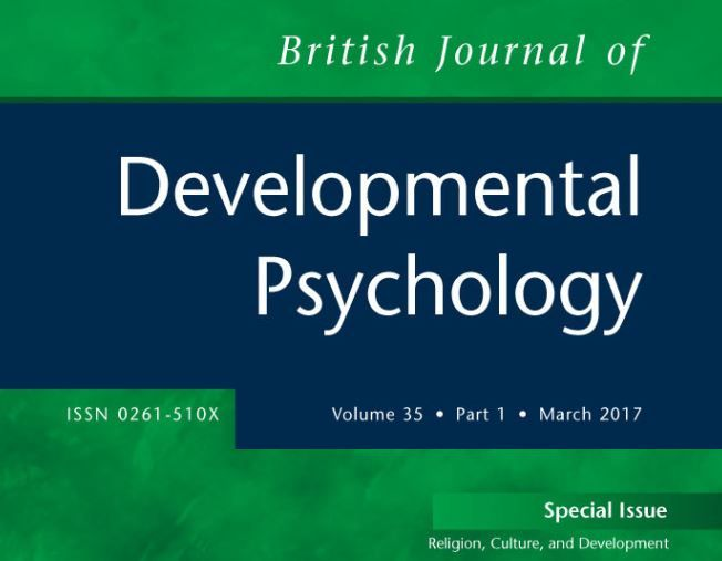 Special issue of the British Journal of Developmental Psychology available to read for free | BPS Beta Site