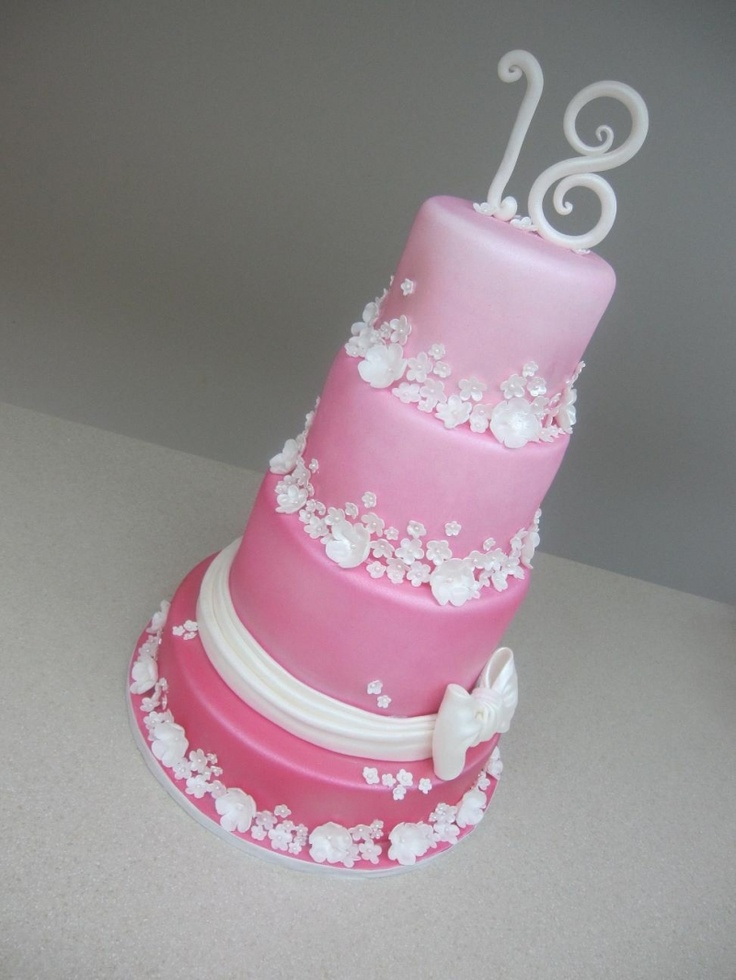 17 images about 18th birthday cakes and cupcakes on for 18th birthday cake decoration