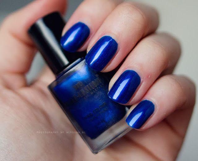 Make-up Studio Metallic Blue Nagellak (104)
