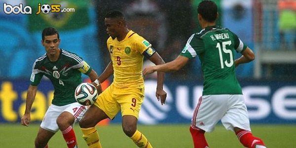 Hasil Pertandingan Meksiko vs Kamerun 1-0 (Piala Dunia 2014)