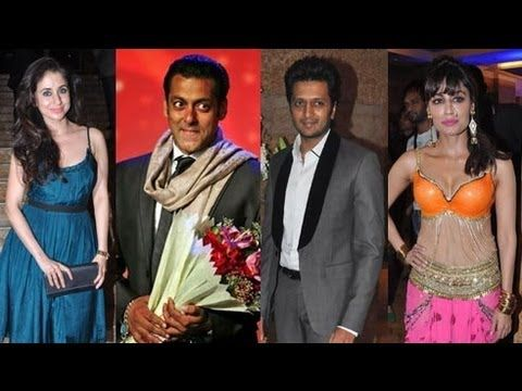 It would be probably the first time when a regional channel was launched in such a grand way. Watch Bollywood superstars Salman Khan, Priyanka Chopra and Sridevi at the launch of the Marathi news channel 'Jai Maharashtra'.The launch party was also attended by several other celebrated names like Chitrangada Singh, Riteish Deshmukh, Dharmendra, Neetu Chandra, Javed Akhtar, Sunil Shetty, Mallika Sherawat, Raveena Tandon and Urmila Matondkar.