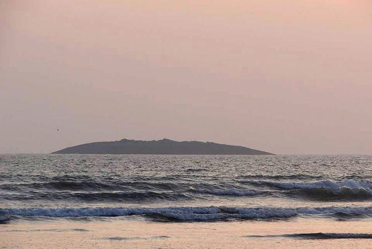 A new island was born this week (September 25, 2013) - An island rises from the sea following a magnitude-7.7 earthquake in Pakistan.