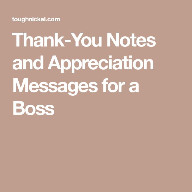 The 25+ best Appreciation message to boss ideas on Pinterest - thank you letter to boss