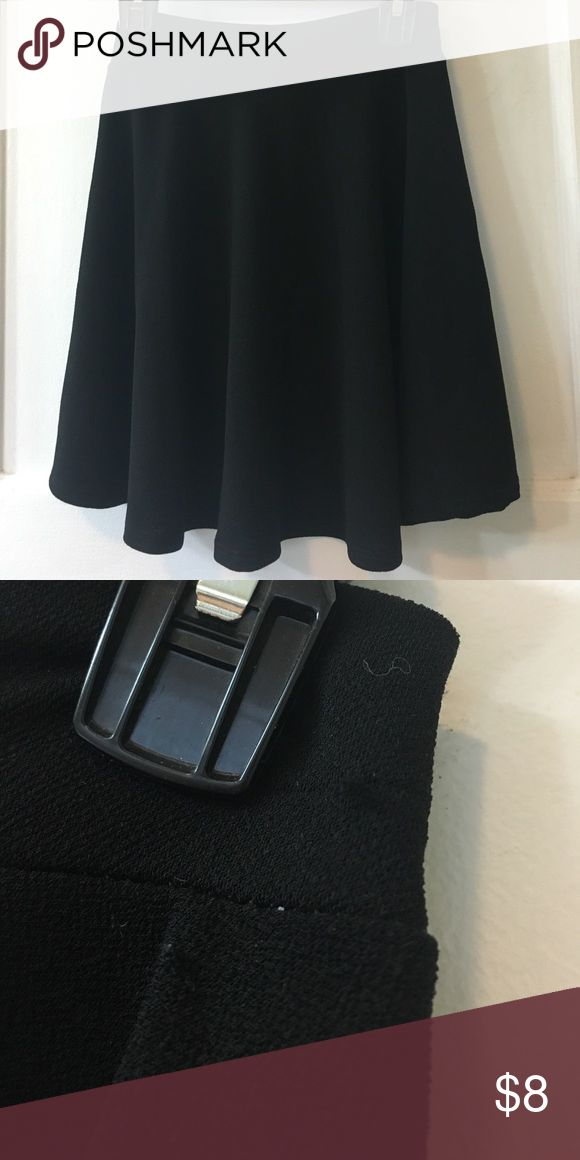 Black Circle Skirt Black // Circle Skirt // Size: Small // One minor snag by waistline // Pre-loved Skirts Circle & Skater