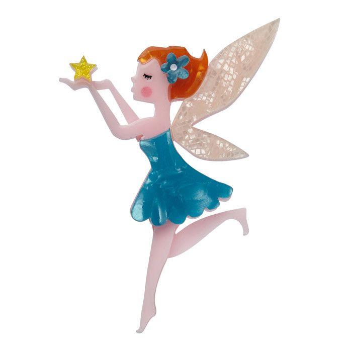 A Fairy Wish Brooch by Erstwilder