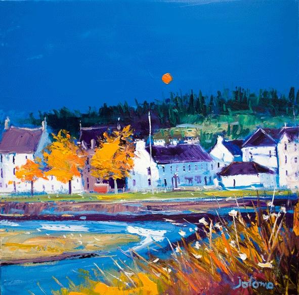 """""""Lochgilphead"""" By local artist John Lowrie Morrison (JoLoMo)"""