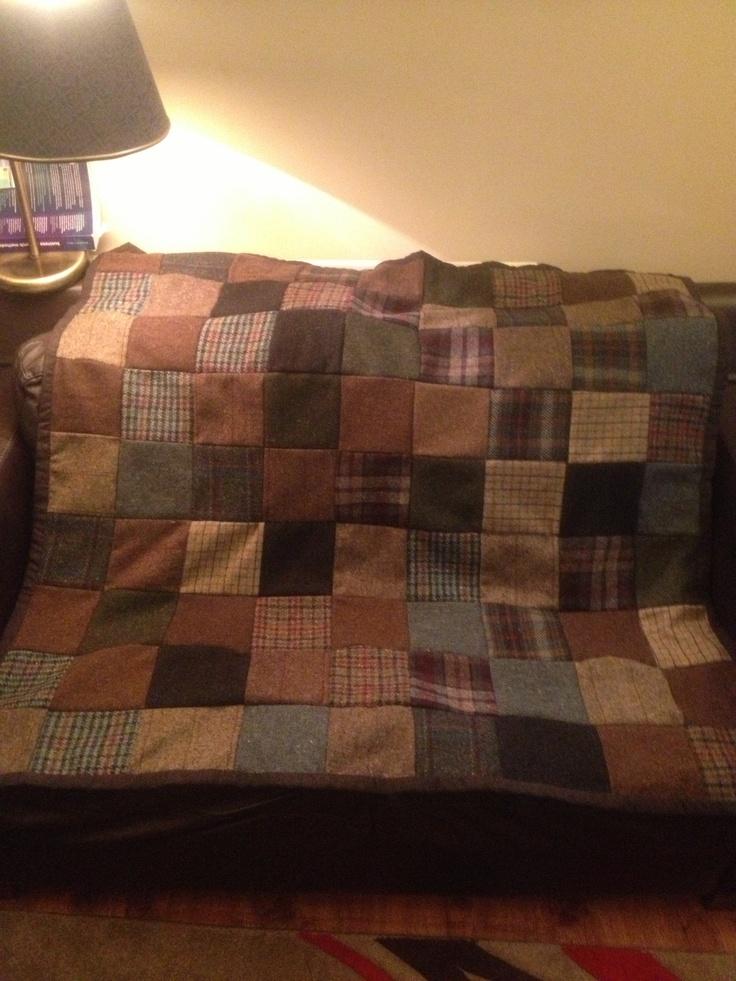 Tweed quilt