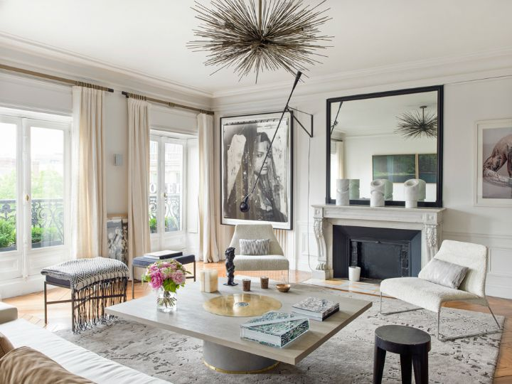 French interiors provide a stunning blend of sophistication that borrows from a variety of different styles, incorporating bold new styles that blend seamlessly with more traditional designs to provide a...