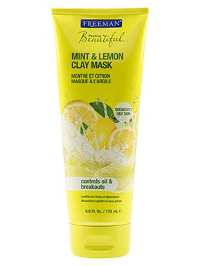 Face Mask || Mint & Lemon Clay Mask- Controls Oil & Breakouts (breakout prone/oily skin)
