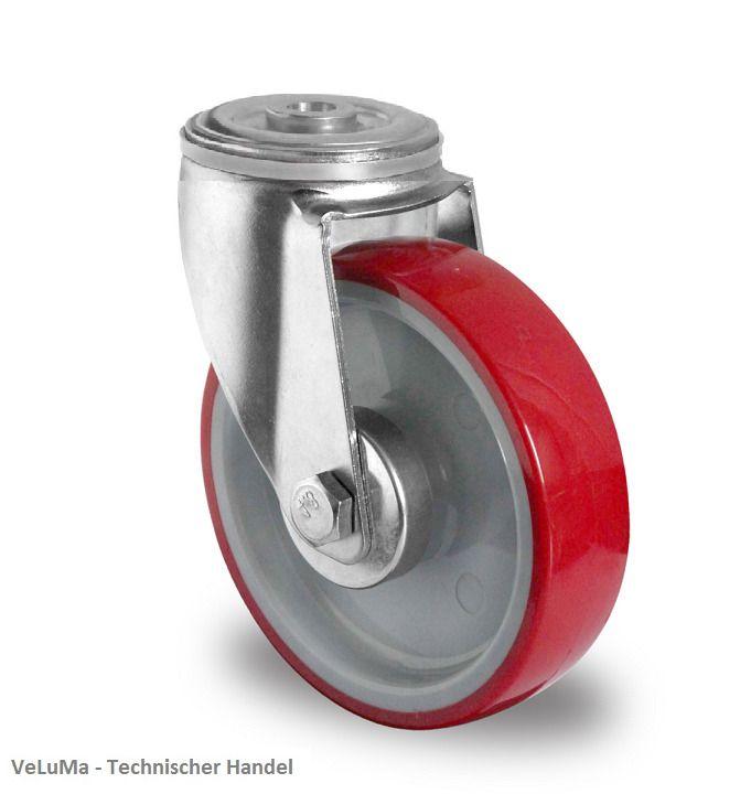 150 mm R/äder Rollen Schwerlastrad Rollen Schwerlastrollen