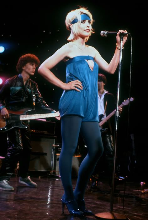 Blondie on The Midnight Special, 1979