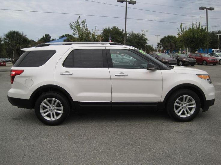 2013 FORD EXPLORER for sale at Bruce Cavenaugh's Auto Mart