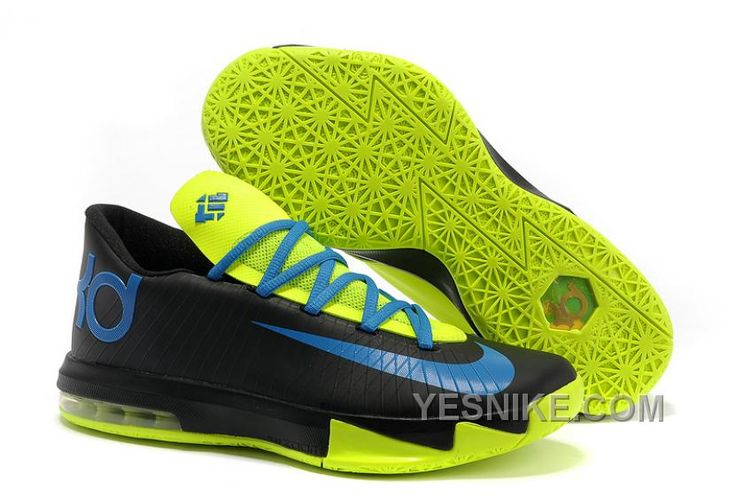 Nike Kevin Durant KD 6 VI Black Blue Green