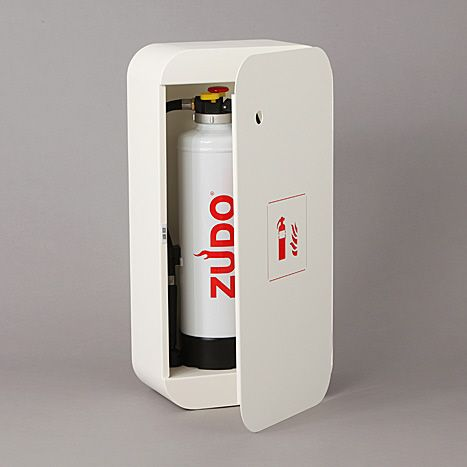 adayinthelandofnobody: ZUDO 1 - Design fire extinguisher cabinet by CHRISTIAN DORN