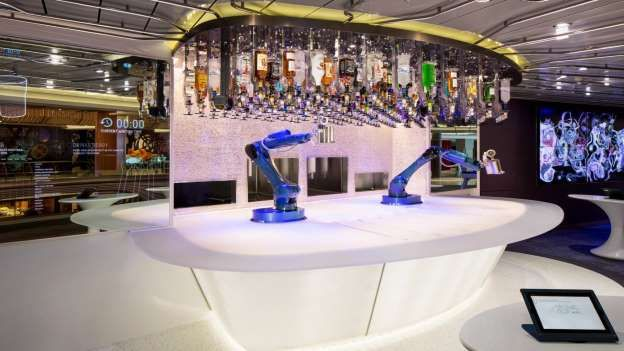 Royal Caribbean's Quantum-class ships all have a Bionic bar but Harmony is the first Oasis ship to g... - Royal Caribbean