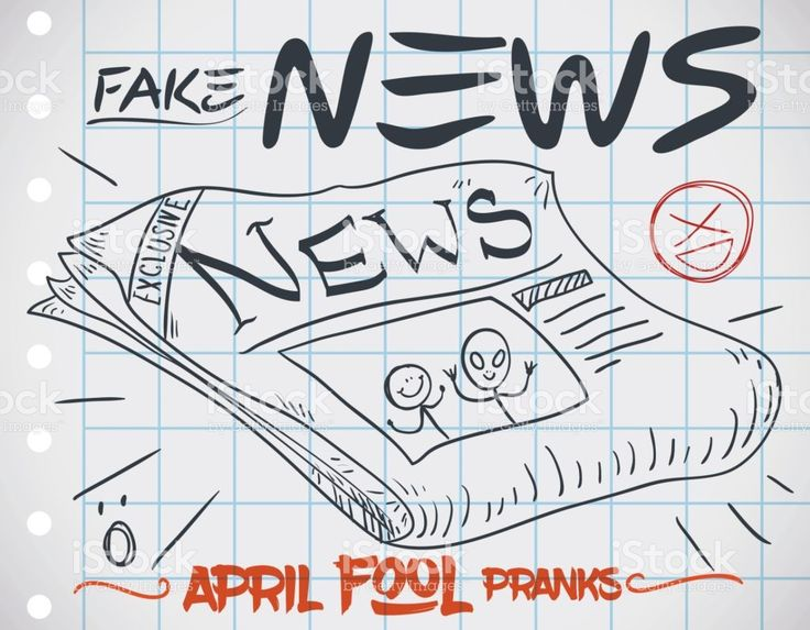 Fake Newspaper Edition for Pranks in April Fools' Day