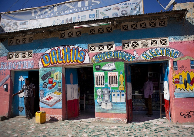 Colorful shop in Boroma - Somaliland by Eric Lafforgue, via Flickr