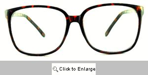 Cass 80's Clear Glasses - 184 Tortoise