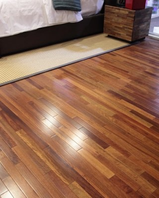 Brazilian Eucalyptus Wood Flooring    Low-VOC Lyptus solid wood flooring ($6-$7 per square foot) is sawn from fast-growing eucalyptus trees grown on Brazilian plantations certified to the country's national sustainable forestry standard.