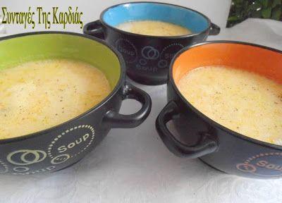ΣΥΝΤΑΓΕΣ ΤΗΣ ΚΑΡΔΙΑΣ: Κοτόσουπα αυγολέμονο