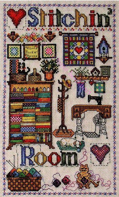 Stitchin Room - Cross Stitch Pattern