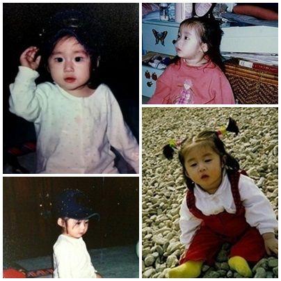 T-ara 지연 어린 시절 사진