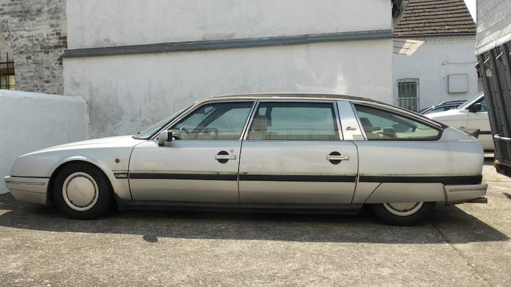 Citroën CX Turbo 25 Prestige – 1985 or 1986. This car is totally ridiculous. Built for cruising, this highway missile is hilariously aerodynamic. Nice wheel caps.