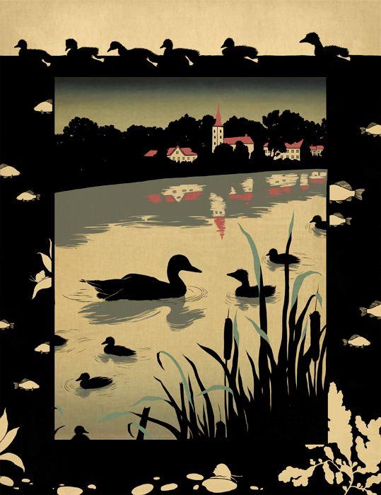 "Hans Christian Andersen ""The Ugly Duckling"" by Natalia Akimova"