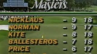1986 Masters Jack Nicklaus EPIC comeback win on Greg Norman FULL Sunday Coverage