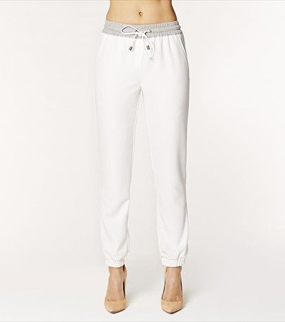 Keep it casual with this gorgeous eggshell sport soft pant! Pair it with one of our graphic tees and a blazer.