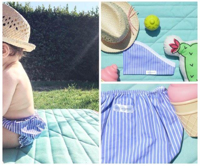 #mare #baby #costume #neonato #cotone #protezione #summer
