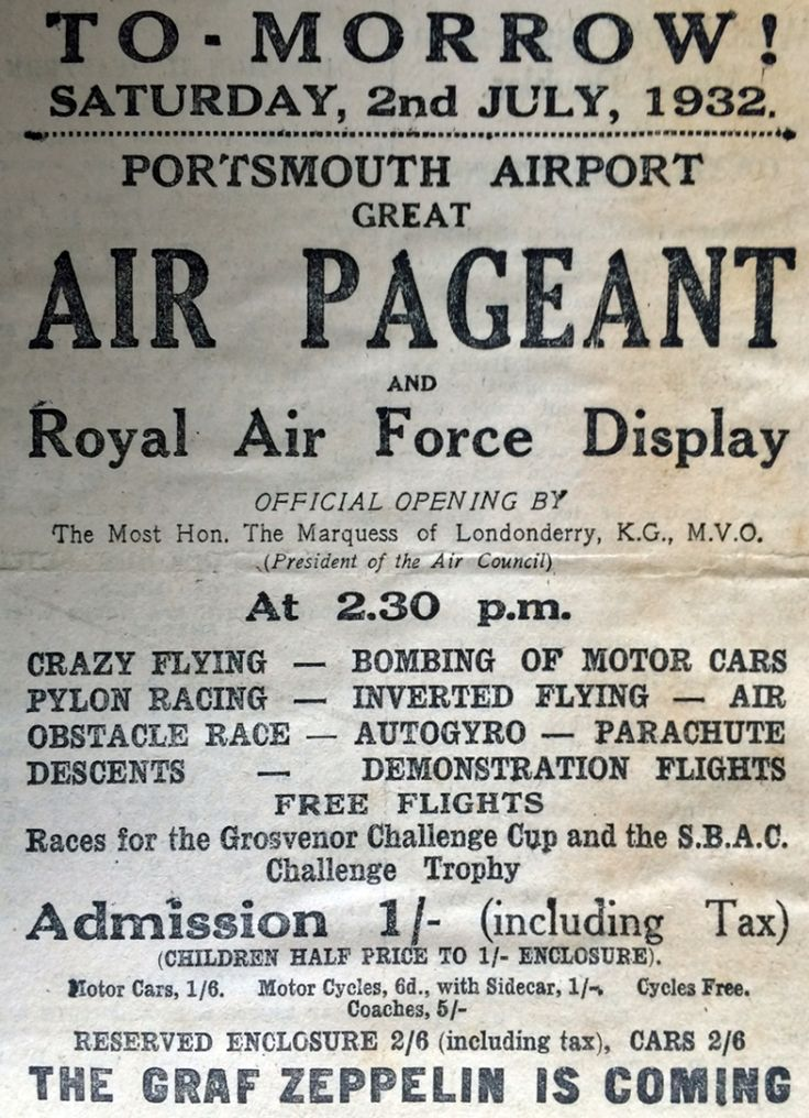 Official Opening of Portsmouth Airport